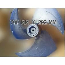 Вентилятор кондиционера700*202 мм