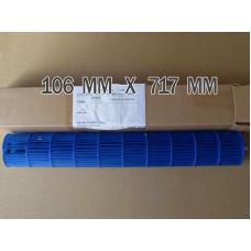 Турбина 106Х717 мм для внутреннего блока кондиционера  IDEA ISR-18 HR-PA6-N1