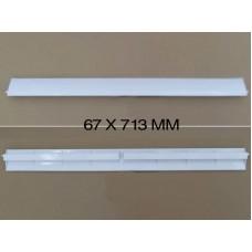 67*713 мм Жалюзи горизонтальные для кондиционера IDEA